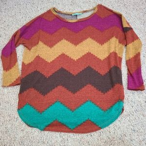 Filly Flare 3/4 Sleeve Top
